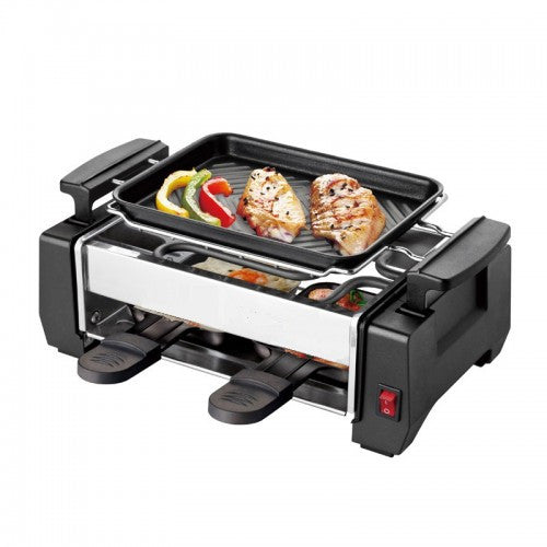 Multi-Functional Barbecue Grill With Two Egg Tray