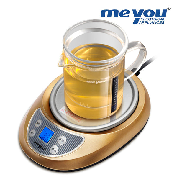 Meyou Electric Warmer With Glass Tea Pot