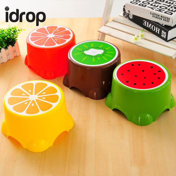 idrop Set of 2 Cute Fruit Pattern Mini Kids Chair [Send by randomly design]