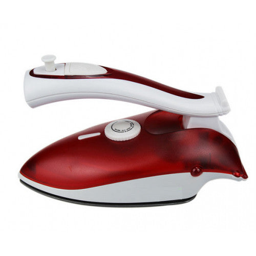 Mini Non-Stick Soleplate Travel Iron LX-368-Red