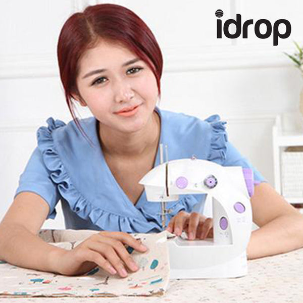 idrop Mini Sewing Machine with Double Threads