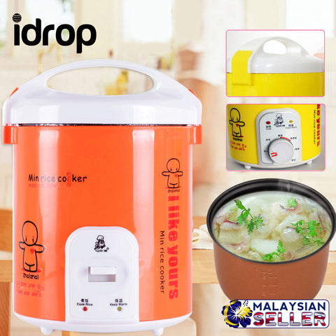 idrop Portable Nonstick Electric Mini Rice Cooker 1.2L