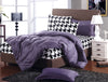 Modern Fitted Bedsheet Set with Quilt Cover