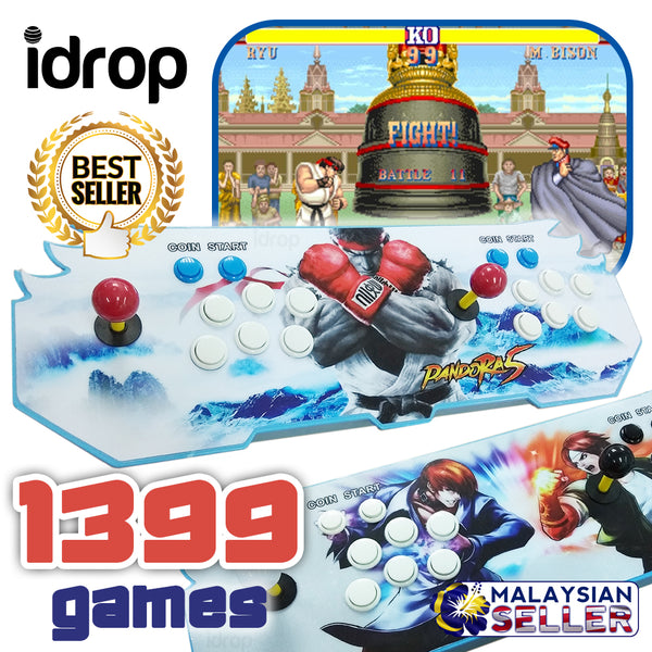 idrop 1399 IN 1 RETRO GAME - Multiplayer Double Joystick Gaming Console