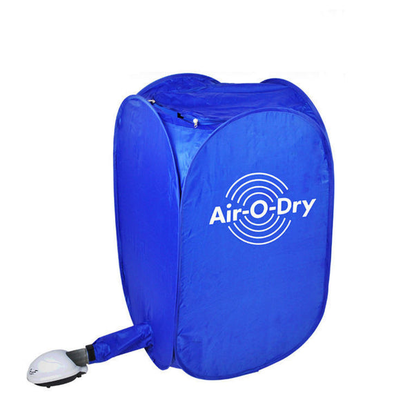 New Air-O-Dry Portable Electric Clothes Dryer Bag Blue