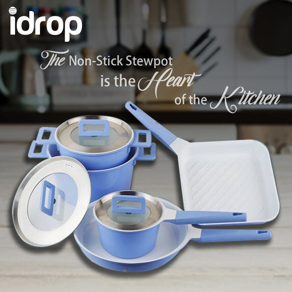 idrop 5pcs Non-Stick Stew Pot