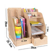 Office Wooden Storage With 2 Design