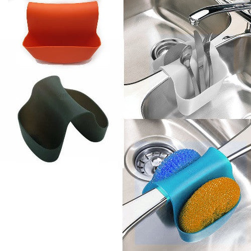 Organizer Sponge Soap Holder Kitchen Gadgets Dish