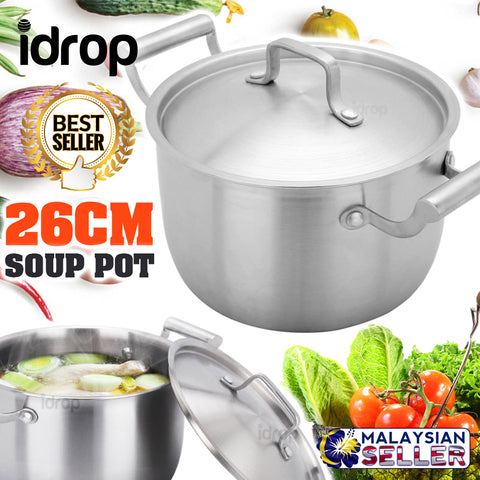 idrop 26CM - Kitchen Cooking Soup Pot