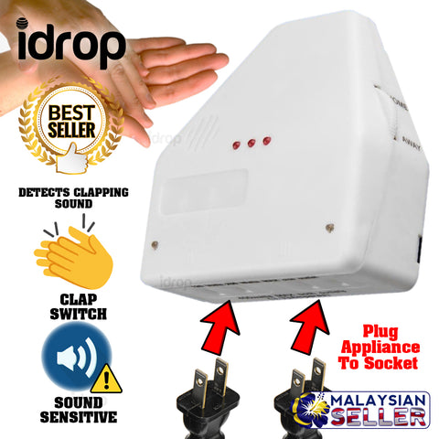 idrop CLAPPING SWITCH - Sound Sensitive Light Switch