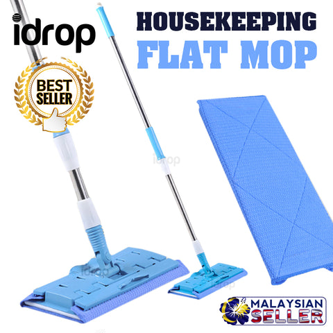 idrop FLAT MOP Household Easy Housekeeping Mop