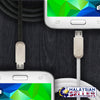 idrop Micro Charging / Data Transfer USB Cable | Black / White