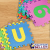 idrop Alphabet Number EVA Foam Puzzle Mat Set Child Play Mat