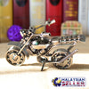 idrop Scrambler Miniature Motor - Handcrafted Metallic Collectables Display
