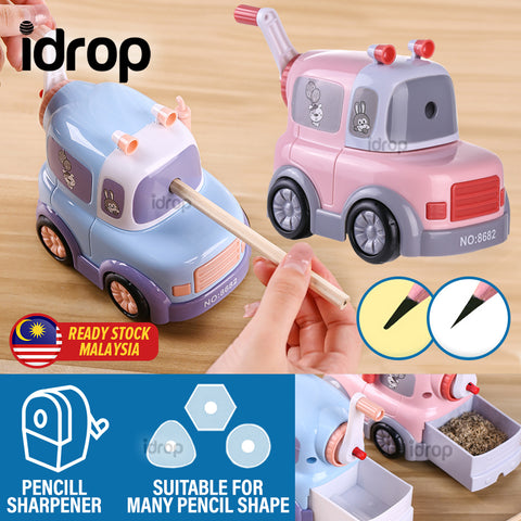 idrop Children's Lorry Design Mechanical Hand Manual Pencil Sharpener