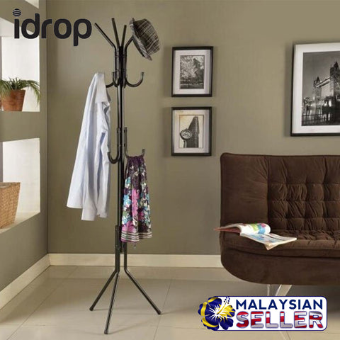 idrop Multihook Coat Stand - Multilayer - Coat, Jacket, Hat hanging stand with Multiple hook