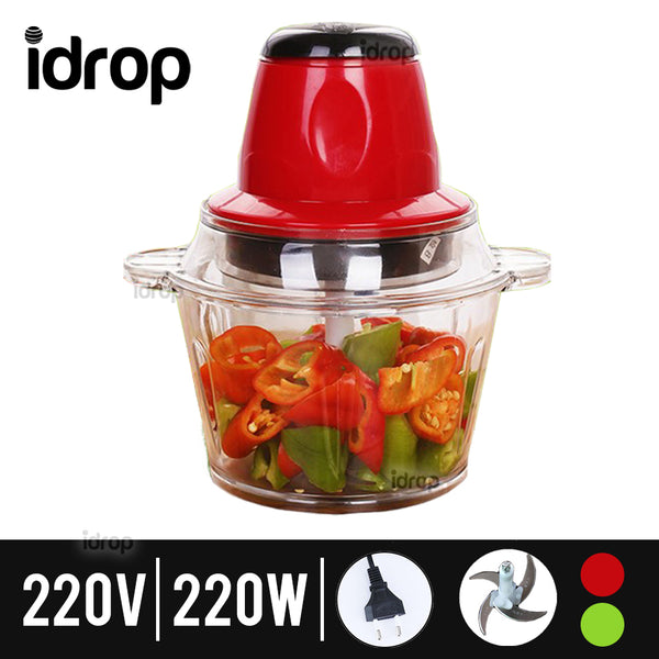 idrop Kitchen Meat & Vegetable Grinder Blender [ Compatible UK / EU / M'SIA Plug ]