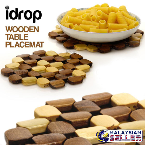 idrop Octangonal Table Placemat 32pcs Mat
