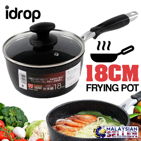 idrop 18cm EMOOJOO Frying Pan - Kitchen Cooking Fry Pot