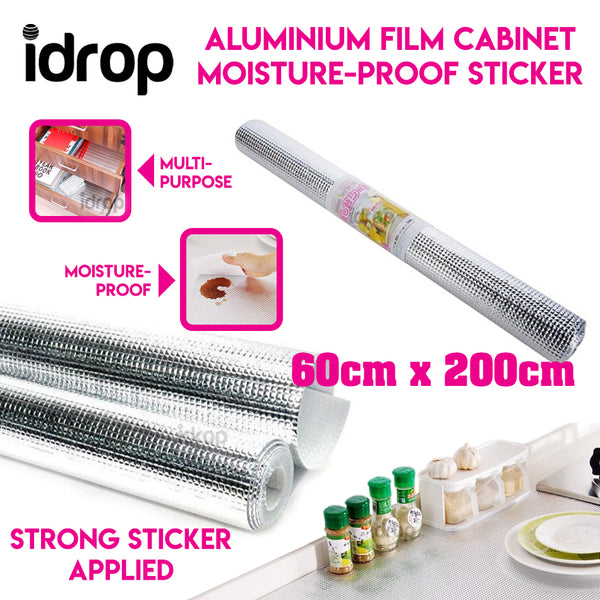 idrop Aluminium Film Cabinet Moisture-Proof Sticker
