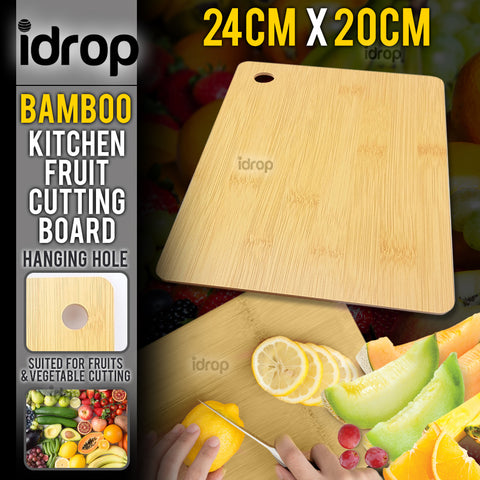 idrop Kitchen Wooden Fruit Cutting Board [ 24cm x 20cm ]