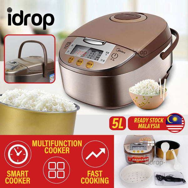 idrop 5L Multifunctional Kitchen Smart Rice Electric Cooker