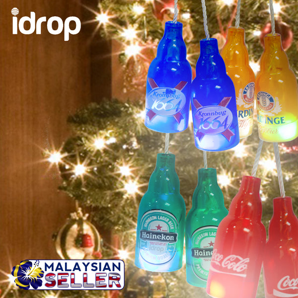 idrop LED Tree Light Decoration with blinking lights | Red/Orange/Blue/Green
