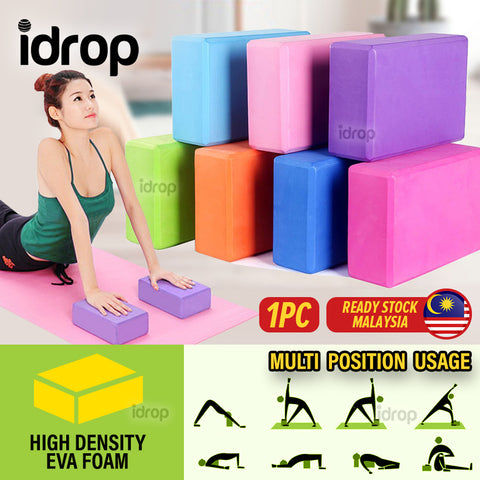 idrop High Density EVA Yoga Block Fitness Exercise Posture Brick