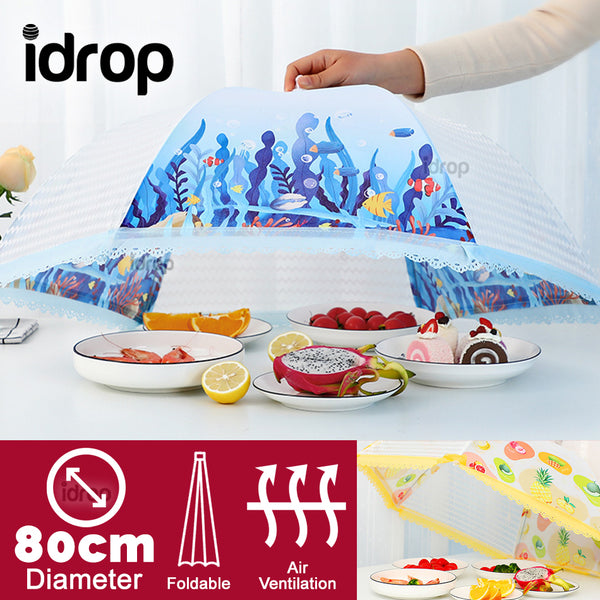 idrop Kitchen Dining Table Foldable Food Cover [ 80cm ]