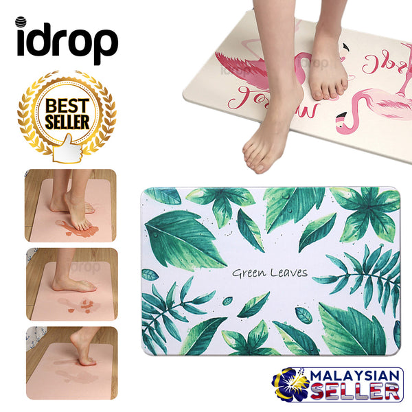 idrop Diatom Home water Absorption Bathroom Mat