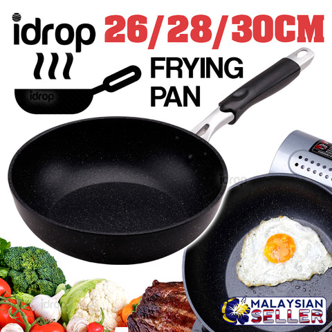 idrop EMOOJOO Frying Pan - Kitchen Cooking Frypan [ 26 / 28 / 30cm ]