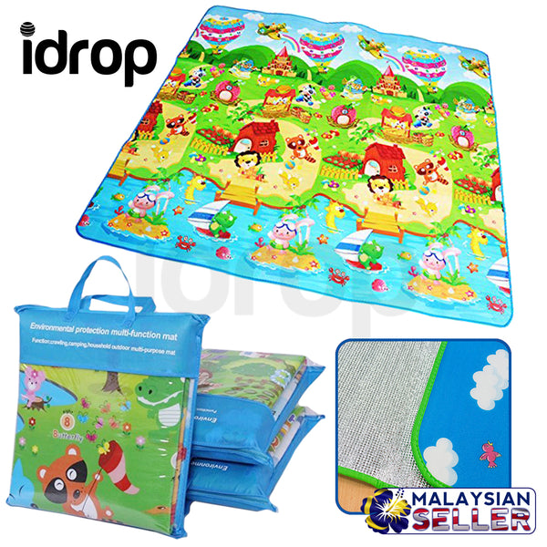 idrop Children Soft Playmat - Environmental Protection Multifunction Mat