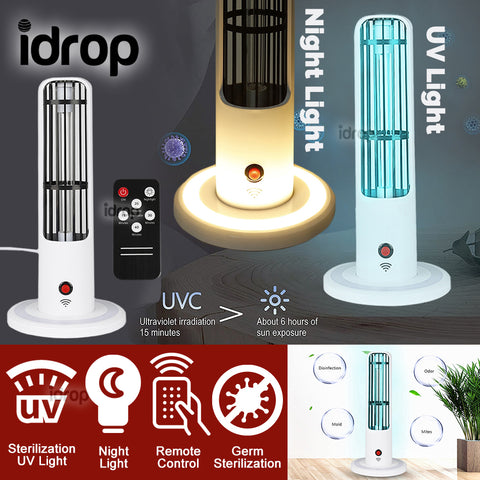 idrop UV Ultraviolet Ray Sterilizing Germicidal Household Night Light Lamp