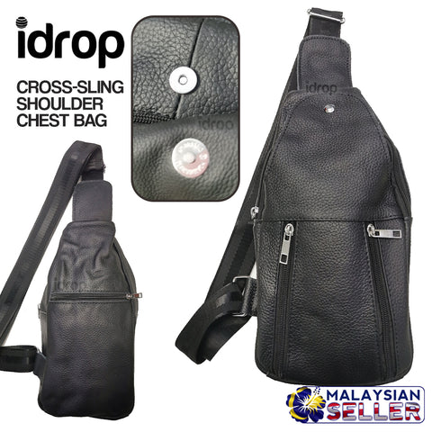 idrop Cross Body Sling Shoulder Chest Bag