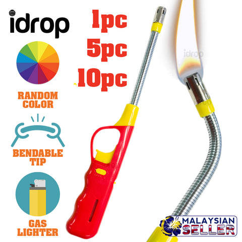 idrop Bendable Tip Gas Lighter [ 1pc / 5pc / 10pc ]