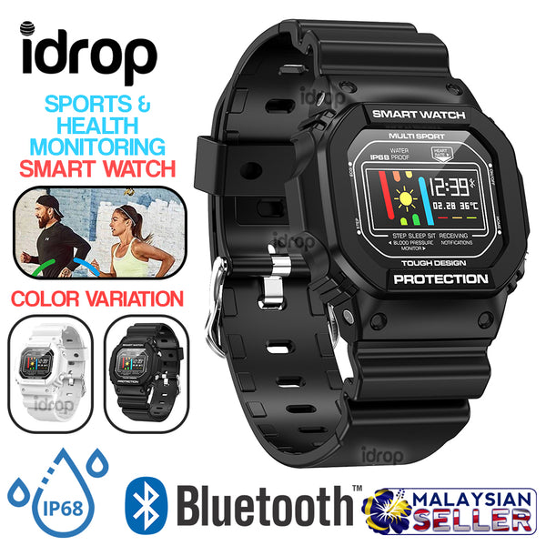 idrop Microwear X12 Smart Watch Multisport Tough Design