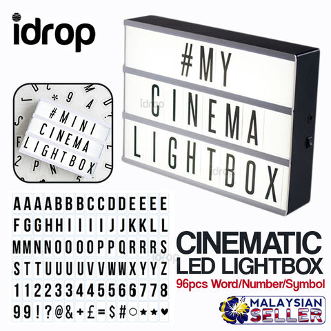 idrop LED LIGHTBOX Cinematic Light Display Box [ 96pcs Cards ]