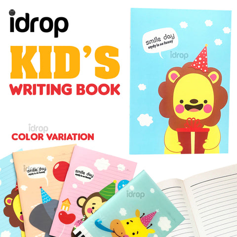 idrop 1pc Kid's School Personal Writing Notebook [ 14.5cm x 20.4cm ]