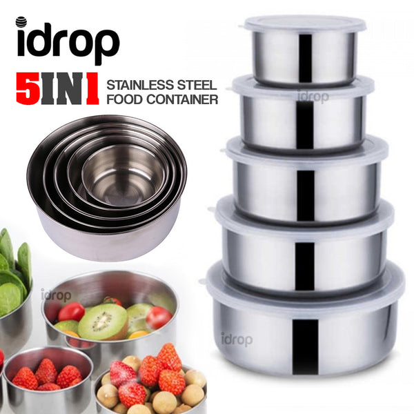 idrop 5 In 1-Stainless Steel Food Container