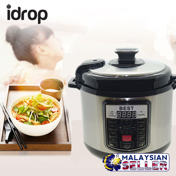 idrop BEST 5 Litre Electric Pressure Cooker ( 5L )