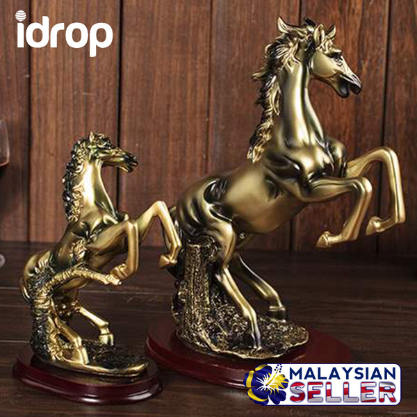 idrop Premium Horse Display House Decor Prestige Table Decor [ 23 CM HEIGHT ] [STANDARD SIZE VERSION ONLY]