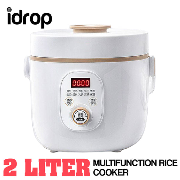 idrop 2L Multifunction Electric Compact Mini Rice Cooker