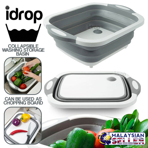 idrop Kitchen Collapsible Washing Sink Storage Basin