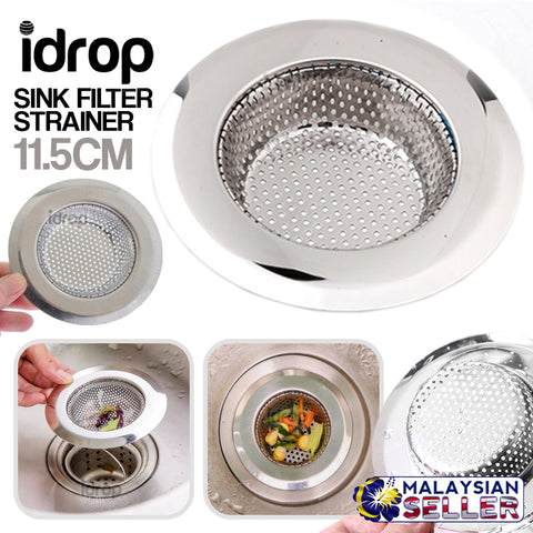 idrop Kitchen Sink Filter Strainer Mesh Cover [ 11.5cm ]