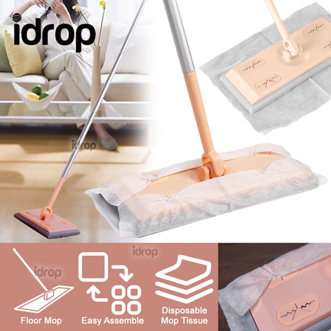 idrop Household Electrostastic Dust Paper Cleaning Mop