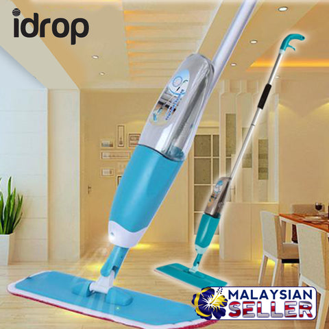 idrop Easy Streak Easy Rotating Spray Mop with Ergonomic Design