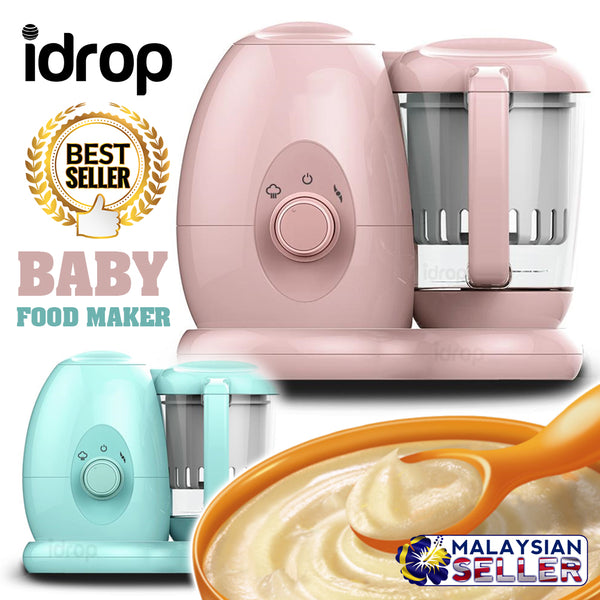 idrop BABY FOOD MAKER - Cooking & Blending Machine