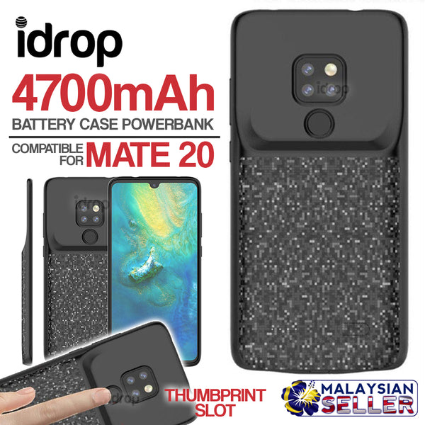idrop Battery Case Powerbank 4700mAh Compatible for Mate 20