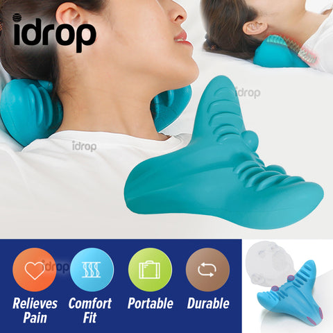idrop Neck Relief Cervical Spine Massage Pillow Rest