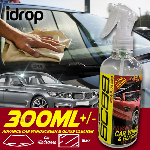 idrop SC99 Advance Car Windscreen & Glass Cleaner  Pencuci Cermin & Gelas Kereta [ 300ml ]